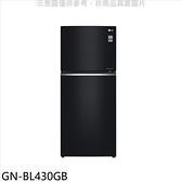 LG樂金【GN-BL430GB】393公升雙門曜石黑冰箱