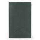 BURBERRY限量戰馬LOGO皮革五孔手帳冊(墨綠色)086065-1