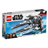 樂高積木 LEGO 2018《 LT75242 》STAR WARS 星際大戰系列 - Black Ace TIE Interceptor╭★ JOYBUS玩具百貨