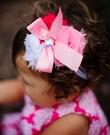 【美國 RuffleButts】髮帶- 蘇菲雅三色粉嫩髮帶 ACHWHOS-PWFR