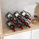 紅酒架擺件高腳杯架倒掛家用葡萄酒展示架子創意現代簡約格置物架 「限時免運」