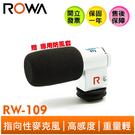 ROWA 樂華 新一代 高感度 指向性麥克風 RW-109 收音麥克風 (裸裝)