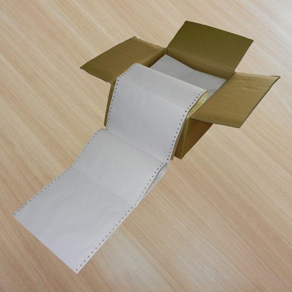 中一刀複寫電腦報表紙 3P-白/紅/黃 規格9.5(英吋)*11(英吋)*每箱500份 (適合各點陣式印表機專用)