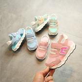 兒童鞋子 男童運動涼鞋1寶寶軟底2透氣網面兒童單鞋 歐萊爾藝術館