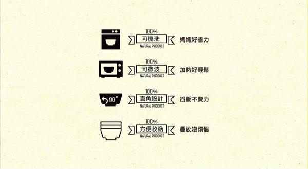 Miniware | 天然寶貝碗-竹纖維兒童學習餐具-點心碗組(草莓優格)