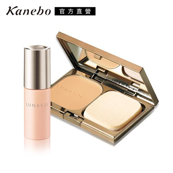 Kanebo佳麗寶 LUNASOL晶巧光漾粉餅蕊超值限定組(多色任選)