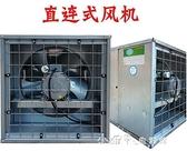 負壓風機900型靜音大型排氣扇網吧工廠養殖通風換氣扇 【全館免運】