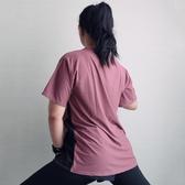 May運動上衣女夏季短袖T恤寬鬆健身服跑步瑜伽速干大碼200斤胖mm