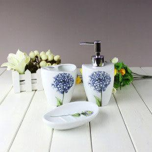 陶瓷五件浴室套件