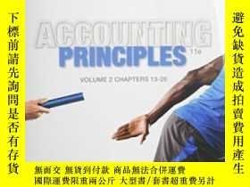 二手書博民逛書店Accounting罕見Principles Volume 2: Chapters 13 - 26Y30775