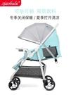 嬰兒推車可坐可躺摺疊超輕便攜避震雙向寶寶...