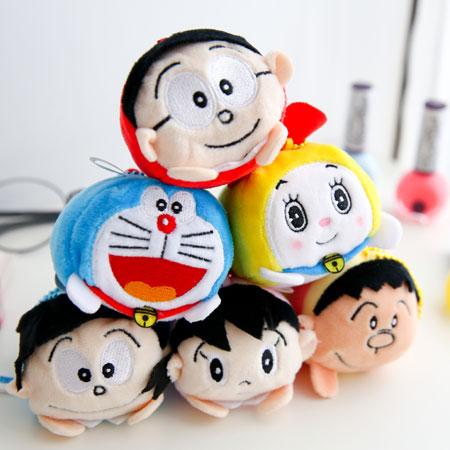 正版哆啦A夢疊疊樂珠鍊娃娃 小叮噹 Doraemon TSUM TSUM 疊疊樂 吊飾 鑰匙圈 掛飾