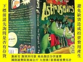 二手書博民逛書店astrosaurs罕見the planet of peril 天龍是 危險星球Y200392