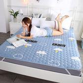 床墊子1.8m床雙人墊被1.2米單人學生宿舍海綿榻榻米折疊1.5床褥子