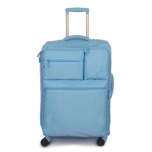 GOBY 果比 Smart系列-25吋四輪行李箱 T103- 薰衣草藍 [禾雅時尚]