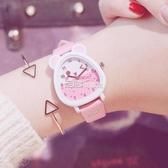 兒童手錶 兒童手錶女孩防水學生可愛小學生時尚款女童男孩玩具公主粉色 獨家流行館