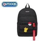 【橘子包包館】OUTDOOR Pokemon 聯名款 訓練家系列 後背包 黑色 ODGO20C02BK