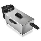 220v斯樂得油炸鍋家用電炸鍋炸爐單缸油條薯條機全自動小型無油煙商用 萬客城