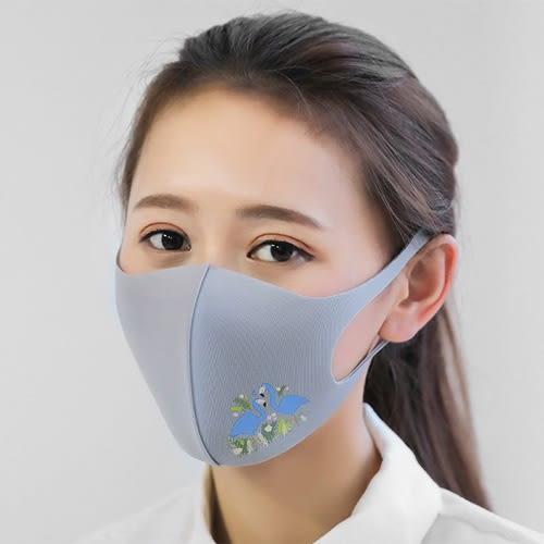 【萊爾富199免運】韓版可清洗易呼吸印花秋冬時尚口罩 透氣口罩