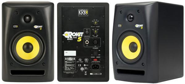 凱傑樂器  KRK RP5G3 第三代  5吋監聽喇叭(黑色) 一對 公司貨