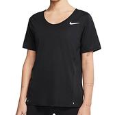 Nike AS W City Sleek Top SS 女 黑 運動 慢跑 訓練 短袖 CJ9445-010