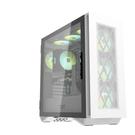 【鼎立資訊】darkFlash DLS480 ATX機箱-白色(含風扇)