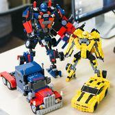 樂高積木男孩子變形金剛機器人拼裝7兒童8益智力6-10歲12軍事玩具 露露日記