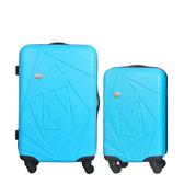 行李箱24+20吋 ABS材質 巴黎風情系列【Mon Bagage】