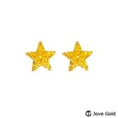 Jove gold 漾金飾 許願星黃金耳環