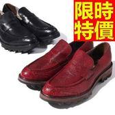 厚底休閒鞋-走秀款龐克風自信時髦男鬆糕鞋2色59s1【巴黎精品】