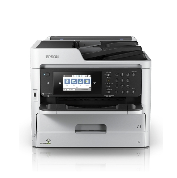 【限時促銷】EPSON WF-M5799 黑白高速商用傳真複合機
