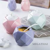 調味罐北歐風創意廚房用品調味罐套裝陶瓷家用大號油鹽罐子調料盒罐【1件免運好康八折】jy