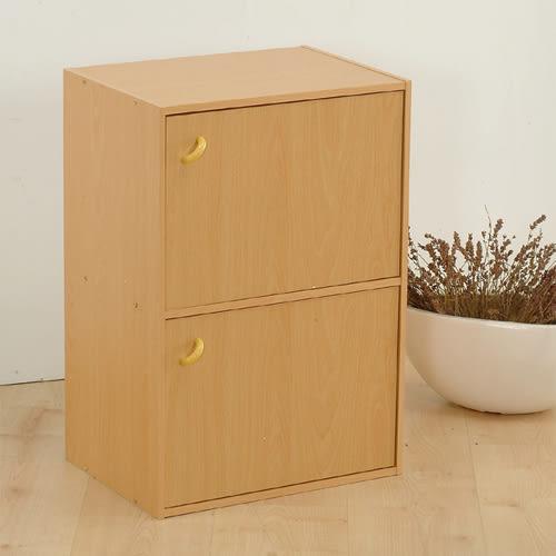 門櫃 收納【收納屋】柏拉圖二格二門櫃&DIY組合傢俱