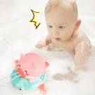 儿童玩具 寶寶洗澡玩具兒童戲水小豬小孩沐浴游泳玩具男孩女孩萌豬飛魚【快速出貨八折下殺】