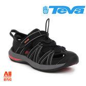 【Teva】女款 ROSA 護趾水陸兩用戶外涼鞋  - 黑橘色 (1002717BKCRL)【全方位運動戶外館】