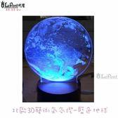 3D藝術氛圍燈-藍色地球