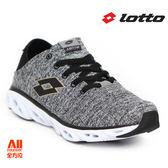 【LOTTO】女款 女款 休閒慢跑鞋-編織灰(L6098)全方位跑步概念館