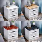 床頭櫃白色收納小型櫃子簡約現代輕奢臥室床邊儲物櫃30cm寬經濟型 小山好物