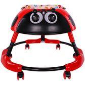 嬰兒幼兒兒童學步車6\7-18個月寶寶多功能可摺疊帶音樂燈光防側翻 HM  焦糖布丁
