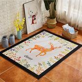 地毯臥室床邊滿鋪可愛家用風格北歐地毯客廳幾何沙發茶幾地毯