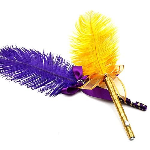 幸福婚禮小物❤典雅實用羽毛簽名筆❤婚禮用品/簽名筆/會場佈置