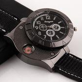 多功能打火機品牌充電創意個性男士手錶小火機精美usb點煙器 愛麗絲精品