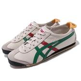 Asics 復古慢跑鞋 Mexico 66 灰 綠 紅 Onitsuka Tiger OT 運動鞋 男鞋 女鞋 亞瑟士【ACS】DL4081684