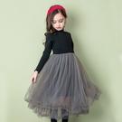 女童長裙 正韓兒童內搭襯裙保暖洋裝