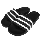 adidas 運動拖鞋 Adilette 黑 白 拖鞋 防水 基本款 三條線 男鞋 女鞋 【PUMP306】 280647