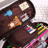 鉛筆袋日韓國創意簡約男女小學生小清新文具盒可愛初中學生大容量夢想巴士