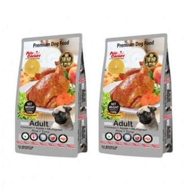 Pets Corner 沛克樂 頂級天然糧雞肉 大顆粒 養生五穀 1.5kg X 2包