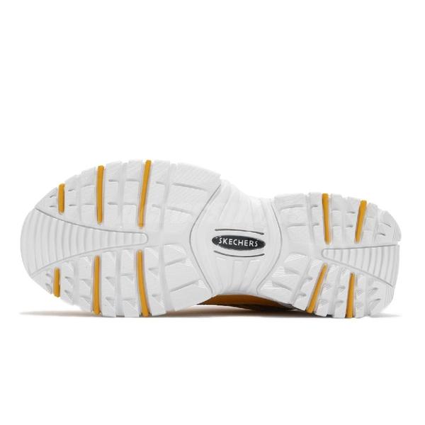 Skechers 休閒鞋 Line Energy Animated Outlook 黃 白 熊大 老爹鞋 【PUMP306】 13424YEL