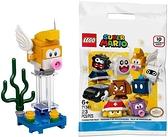 LEGO 樂高 超級馬里奧 卡通角色包 蜥蜴紋布【71361-Eep Cheep】
