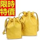 水桶包嚴選美麗-有型經典款肩背側背女包包5色(大)58o1【巴黎精品】
